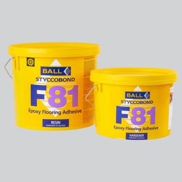 F Ball F81 5kg  Solvent Free, Two-Part Epoxy Adhesive