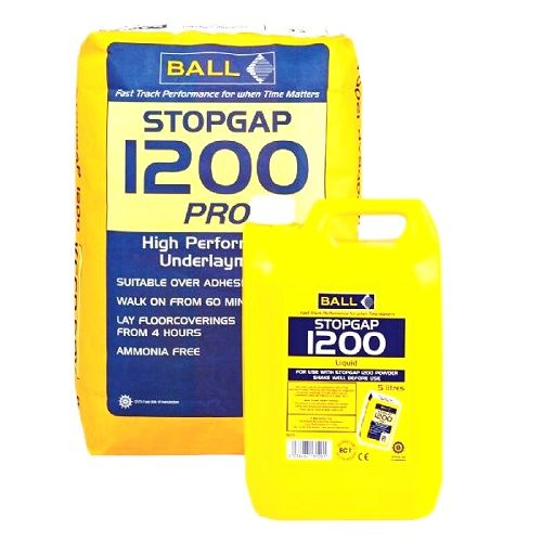 F Ball Stopgap 1200 20kg Powder & F Ball Stopgap 5 Ltr 1200 Liquid
