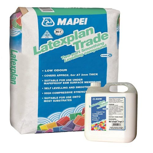 Mapei Latexplan Trade Powder & Liquid Smoothing Compound | £12.62 + Vat